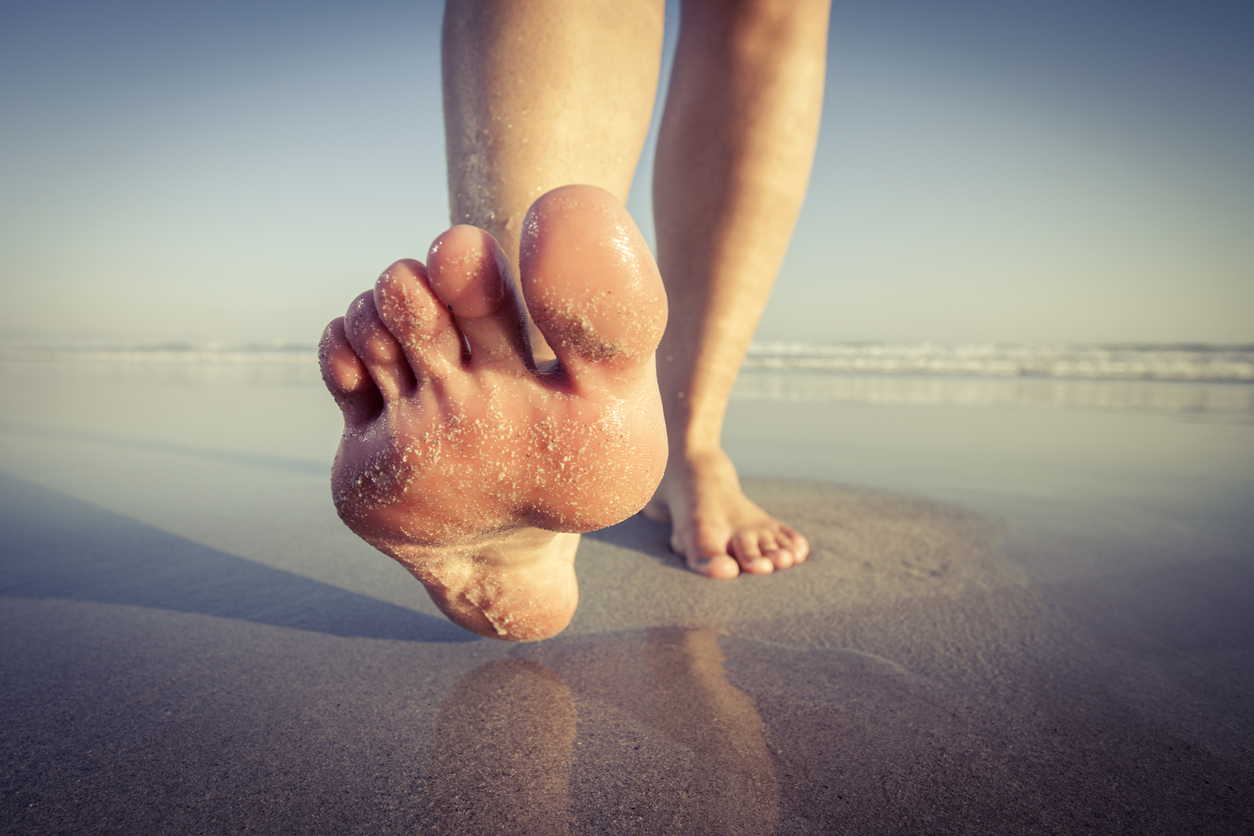 Finding support from your feet